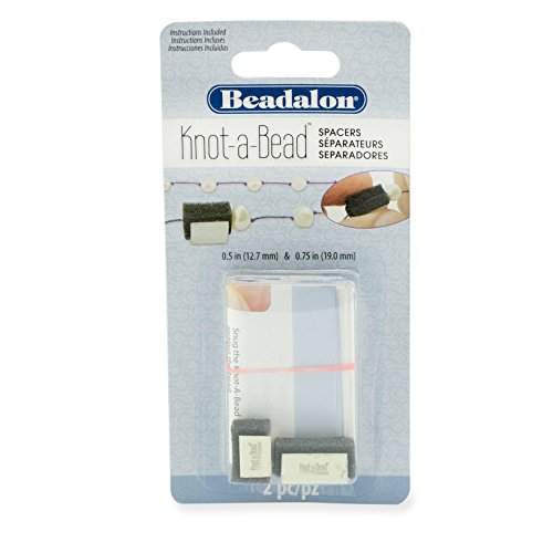 Knot Spacer - Beadalon 216S-285 Knot-A-Bead Knot Spacers 2 Pieces