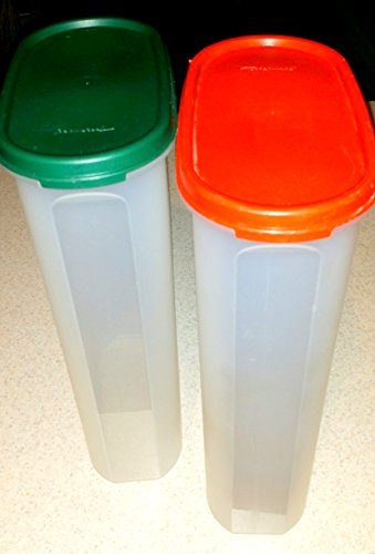 Tupperware Modular Mate Replacement Container #5 1615 with Red Lid