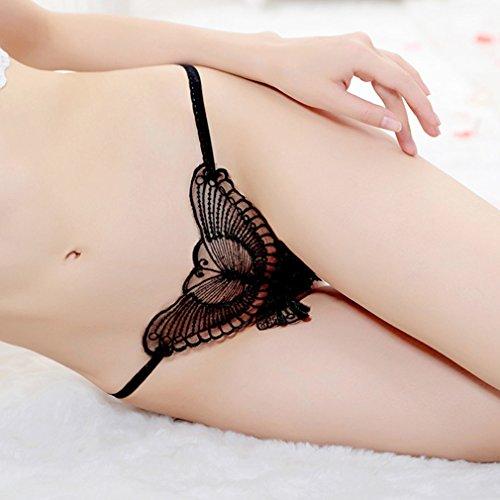 1411 Xqqq vêtements String F Pantalon Creux Transparent Basse Papillon Tissé Féminin Sous Taille T qgCPnq7rZw