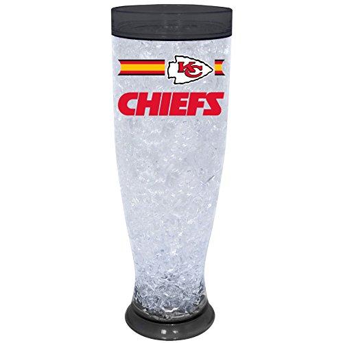 NFL Kansas City Chiefs Ice Pilsner Glass