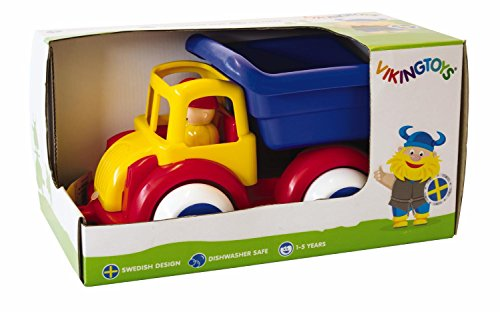 Viking Toys 81250 - Jumbo: Kipper-LKW Mit 2 Figuren: Amazon.de ...