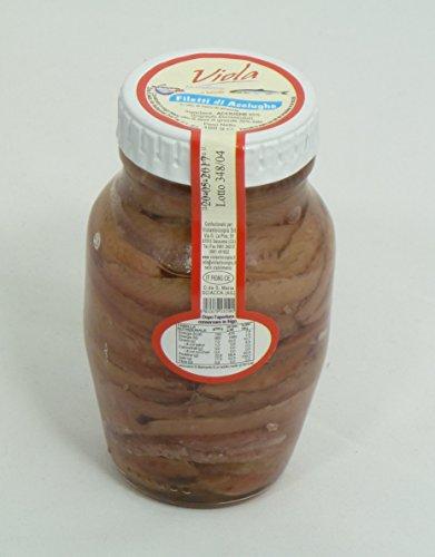 Sardellen in Öl im 160g Glas