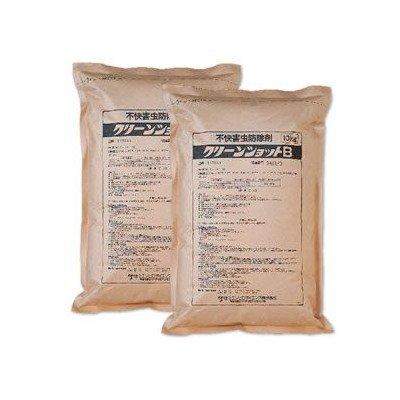 お徳用 粒状殺虫剤 クリーンショットB 1ケース(10kg×2袋) B009HPC9US