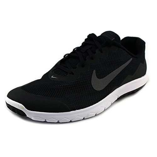 NIKE Men's Flex Experience Run 4 (4E) Running Shoe Black/Anthracite/White/Dark Grey Size 10.5 Wide 4E For Sale