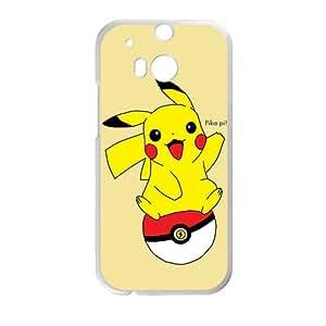 Pikachu Pocket Monster White HTC M8 case