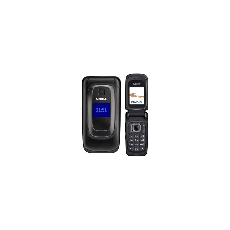 Nokia 6085 Unlocked GSM Phone with Quad Band, 0.3MP Camera and MicroSD Slot   Black