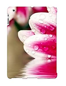 New Crapemill Super Strong Flower Reflections Tpu Case Cover For Ipad 2/3/4
