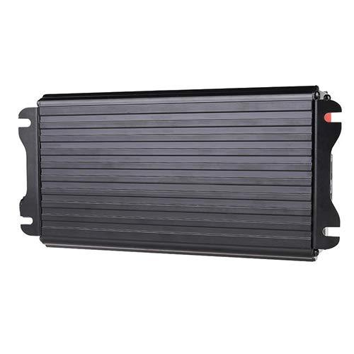 interjunzhan Car Modified Sine Wave Solar Power Inverter 1500W 12V to 220V/240V AC Household (1set) Black