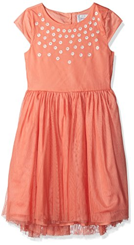 Gymboree Girls' Big Tulle Dress with Sequin, Multi, 6 from Gymboree