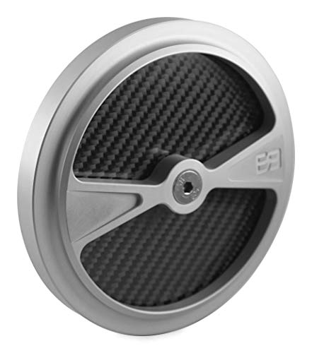 (Brass Balls Cycles F1 Air Cleaner Cover for S&S Stealth Air Cleaners Clear BB03-145)