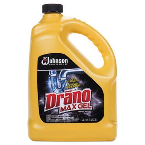 Drano Max Gel Clog Remover, Commercial Line, 128 fl oz (Pack of ()