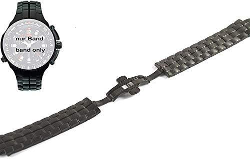 Timex Tx Cinturino T3B851 Acciaio Inox Nero - Tx 770 Serie Cinturino