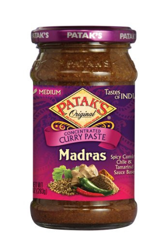 Pataks Madras Curry Paste -  Patak's, 00030222