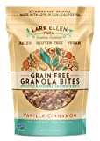 Lark Ellen Farm Grain Free Granola Bites, Vanilla Cinnamon, 7.5 oz