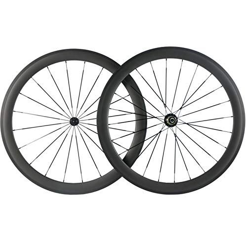 Superteam Bike Wheel Clincher 700C Carbon Wheelset 38/50/60/88 UD Matte (50mm Depth) (Best Aero Disc Road Bike)