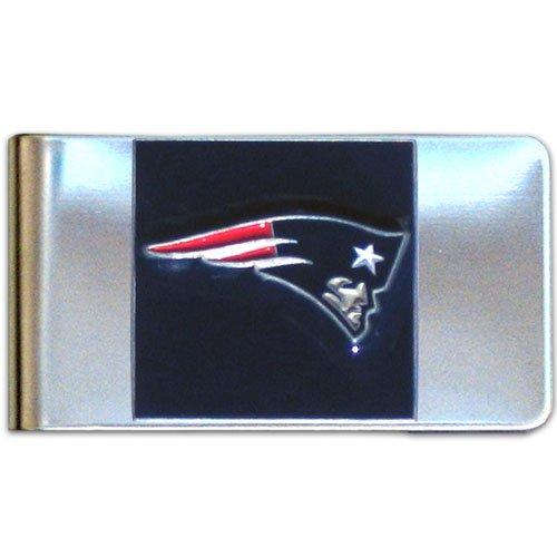 NFL New England Patriots Steel Money Clip (Money England Clip)