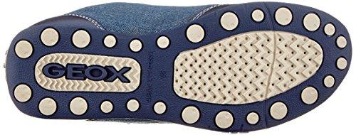 Geox Jr New Jocker D, Zapatillas Para Niñas Azul (Navy/gold)