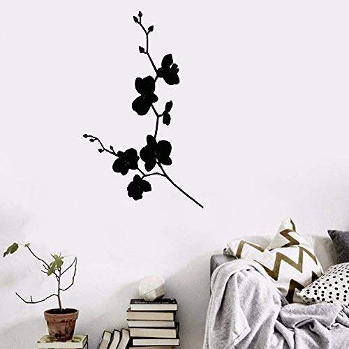 Vinyl Decal Quote Art Wall Sticker Mirror Decal Flower Vines Decoration Stickers for Nursery Kid Room for $<!--$19.23-->