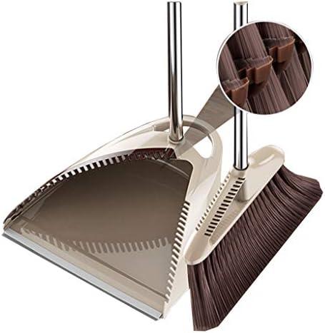 家庭用 コンビネーション ほうき レイジー ちりとり 木製 床 アーティファクト 防風 マジックほうき B 1234