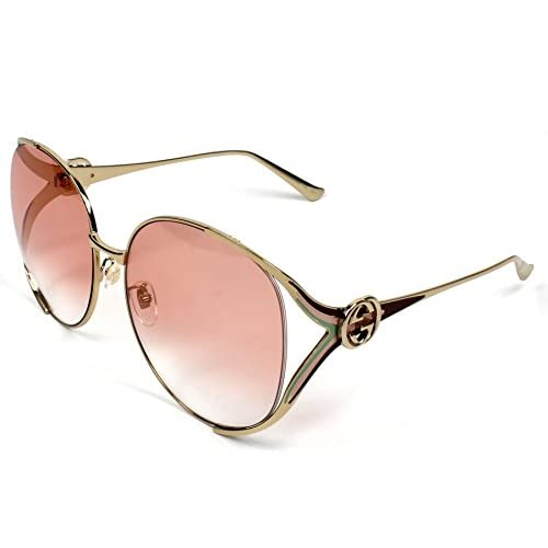 a1afc31797 50% de descuento Gucci GG0225S 005, Gafas de Sol para Mujer, Dorado ...