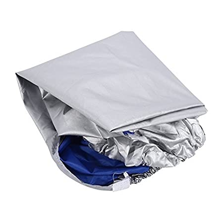 Silver Size: 31/×11/×21inch//2.62/×0.92/×1.77ft Yosoo Air Conditioner Cover Rectangle Anti-Dust Anti-Snow Conditioner Protector for Outdoor Use