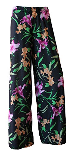 WearAll - Pantalon - Femme multicolore Multicoloured -  multicolore - 50