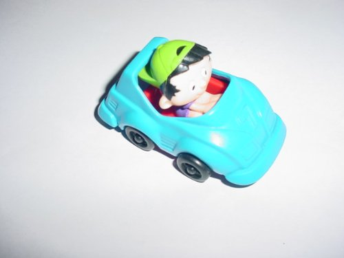 McDonalds Bobbys World Wagon Race Car Happy Meal toy
