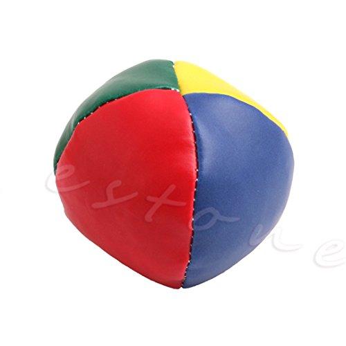 ChangeYOu 1Pc Juggling Balls Set Classic Bean Bag Juggle Magic Circus Kids Toy Gift New ()