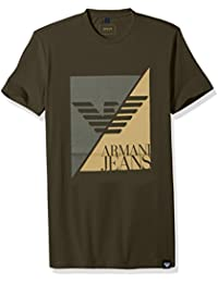 Men's Plus Size Split Eagle Logo T-Shirt