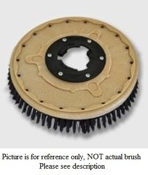 17 inch Poly Brush - Tennant/Nobles Floor Machines - 1019262