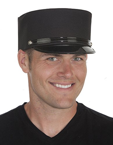 18016 (Large 7 1/2, Black) Conductor Hat -