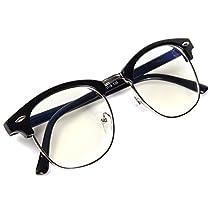 [FREESE] 超軽量 伊達メガネ クラシック ファッション伊達眼鏡 ブルーライトカット UVカット PCメ...
