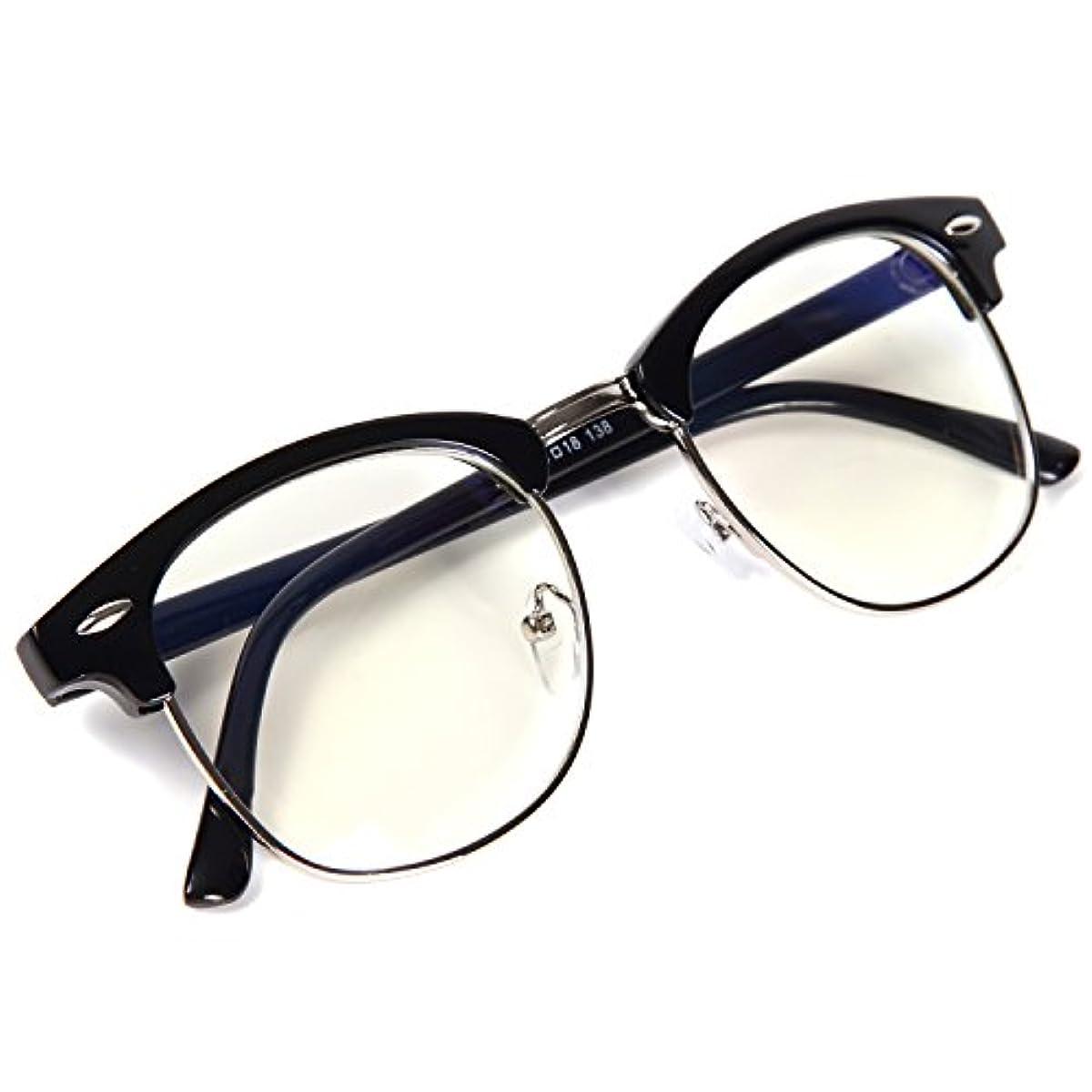[해외] FREESE 다테 안경 블루 라이트 컷 PC안경 디자이너스 클래식 패션 멋으로 쓰는도수 없는 안경 웰링톤 맨즈 【후쿠온카발의 안경 브랜드 FREESE】