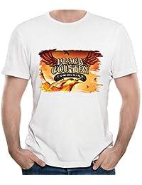 Mens Black Country Communion Cool Short Sleeve Top T Shirt Boy Fashion Shirts