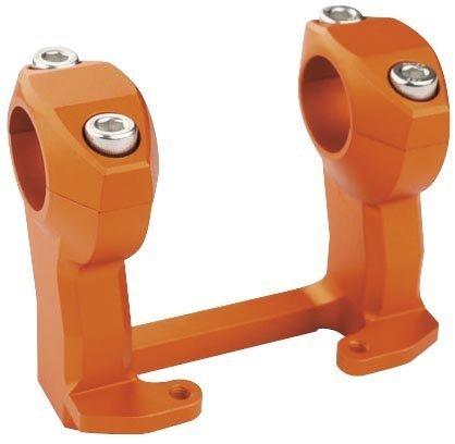 Trail Tech Handlebar Riser for KTM 1 1/8in. Handlebars - Orange 030-MCA3 by Trail -