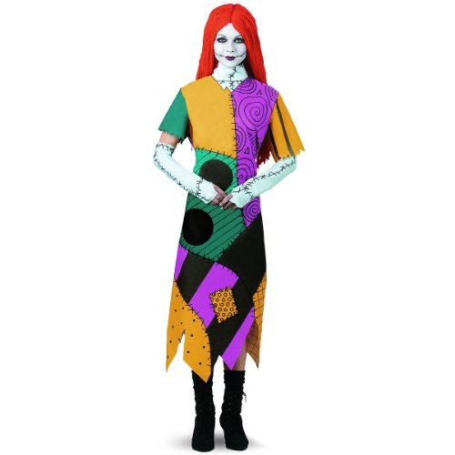 Sally Classic Adult Costume - (Sally Nightmare Before Christmas Costume Ideas)