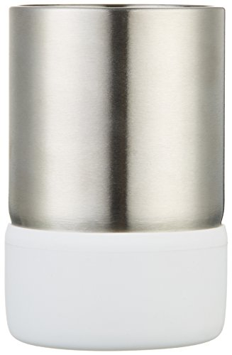AmazonBasics Stainless Steel Tumbler - White