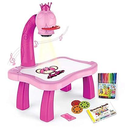 Amazon.com: Nagotown - Escritorio para niños con proyector ...