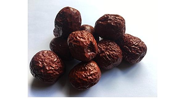 Dátiles Rojas Chinas Hong Zao Gran Fruta Natural Secada Fructus Jujubae Premium Calidad de la Medicina China