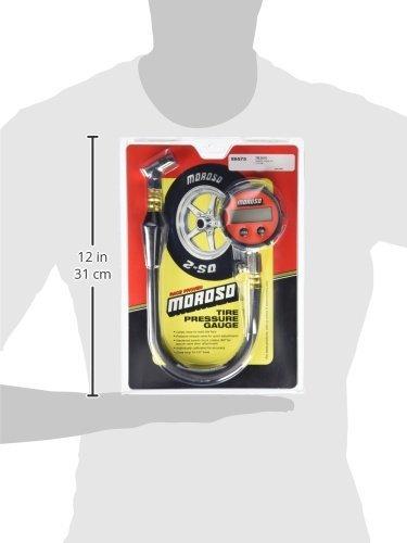 Moroso 89575 0-60 PSI Digital Tire Pressure Gauge