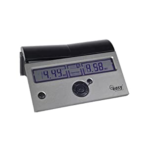 DGT Easy PLUS Chess Clock in Black