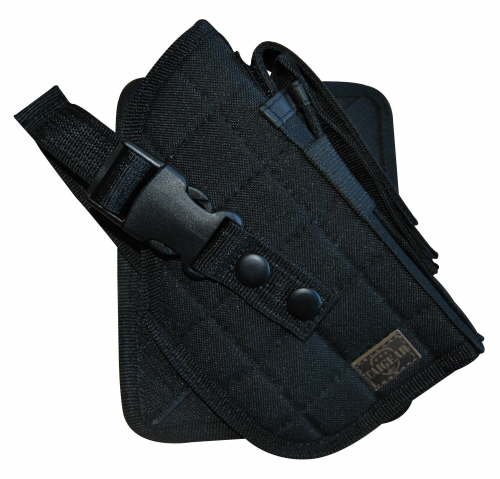 Taigear Black MOLLE Cross Draw Holster--Right Handed--244BR by Taigear
