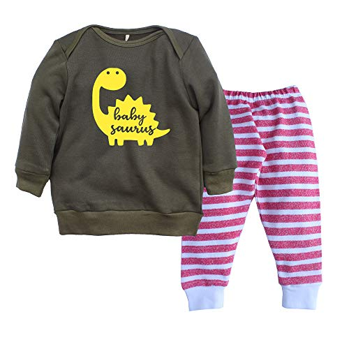 Kadambaby Baby Boy Winter Clothing Sets Full Sleeve T-Shirts and Pant/Pajama Combo (S5, 12-18 Months)