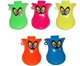 The Little Party Shop 4 X Duck Quackers Whistle Childrens Party Loot Bag Filler Toys