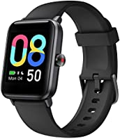 Vigorun Smartwatch,Fitness-Tracker,5ATM Wasserdicht Fitness Armbanduhr,1,55 Zoll Touch Farbdisplay Fitness Armband mit...