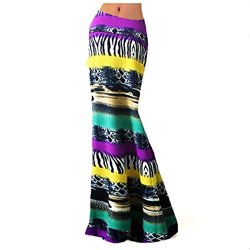 - Robert Reyna Fine Womens Multicolored Two Tone Damask Printed Maxi Skirt,Small,Multi-8