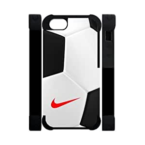 Soccer Ball Nike Just Do It iPhone 5 5S Perfect Color Match Cover Case for Fans