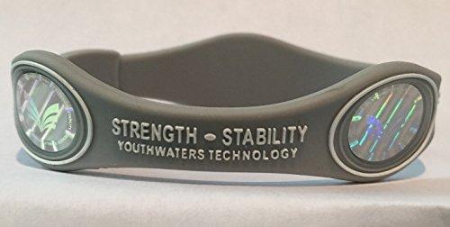 Strength Stability Bracelet grey medium