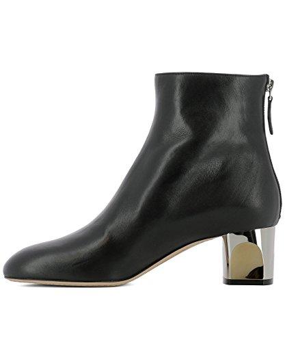 Noir 534124WHR601000 McQueen Bottines Femme Cuir Alexander vq4B0Fv