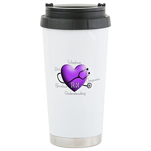 CafePress - Nurse Gifts XX - Stainless Steel Travel Mug, Ins